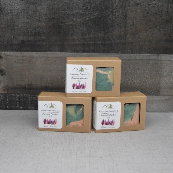 Japanese Gardens Soap - 3 Boxes